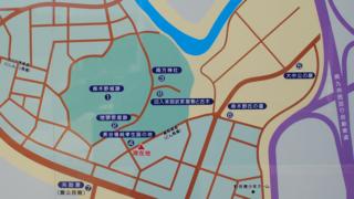串木野麓史跡案内マップ